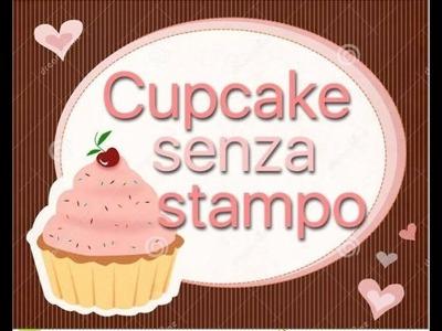 ~♥Tutorial fimo:  BASE CUPCAKE senza stampo ! ♥~