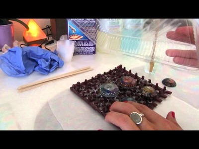 Tutorial: How To Make Your Orgone Resin Pendants Shiny