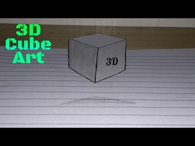 ✪ 3D Cube Art | How to make 3D Cube ✪ StarTech Tips ✪
