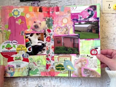 Altered Book Journal: No Rules Scrapbooking Part 1