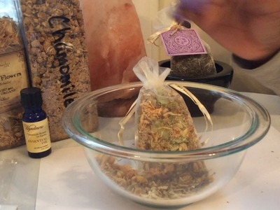 DIY Herbal Sleep Pillow & Hoodoo Spell For Root Workers