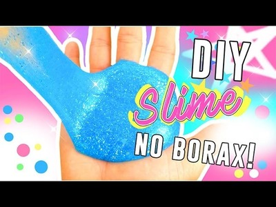 DIY Slime | How to Make Slime Without Borax