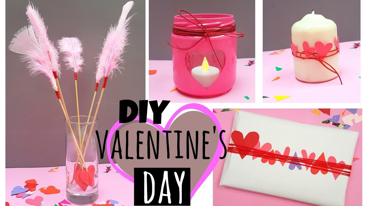 DIY Valentine's Day Room Decor & Gift Ideas | Easy & Inexpensive Ideas