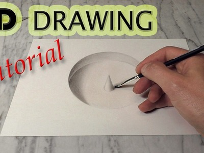 How to draw a hole in 3D. Tutorial