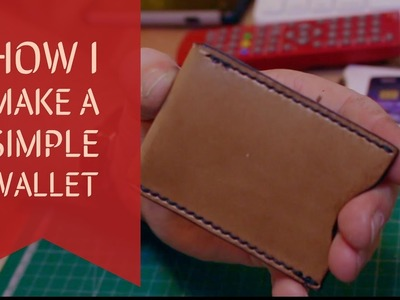 How to make a simple wallet