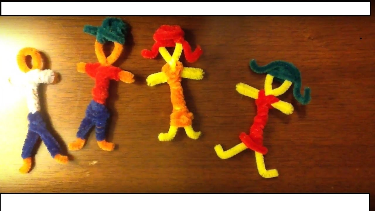 How to Make People Out of Pipe Cleaners!