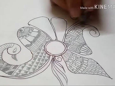 Mehndi Art   Beginners Henna Designs   With Paper And Pencil