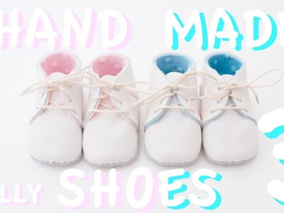 MOLLY 3.3 : How to make baby shoes | First Baby Shoes