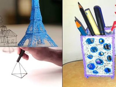 What can you do with a 3D pen?