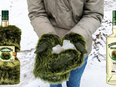 Zubrowka Vodka DIY Bison Gloves ( How to Convert Vodka into Gloves)