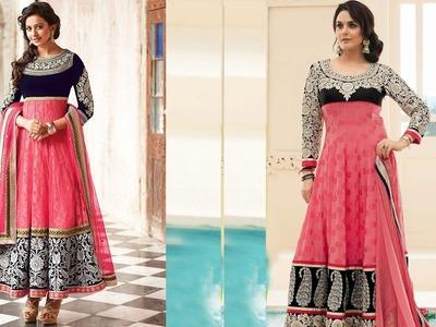 Anarkali Gown DIY | 24 panel Anarkali dress Drafting, cutting and stitching (ENGLISH SUBTITLE)