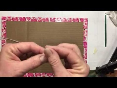 Build your Stash and Craft, Wk 8, Diy tacks and Tack Board :)