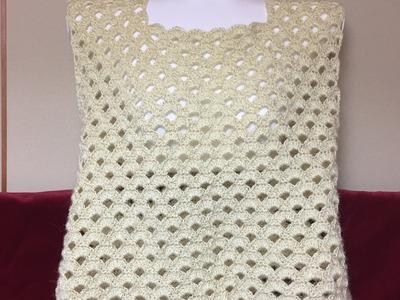 Crochet Easy Blouse | Arcade Stitch