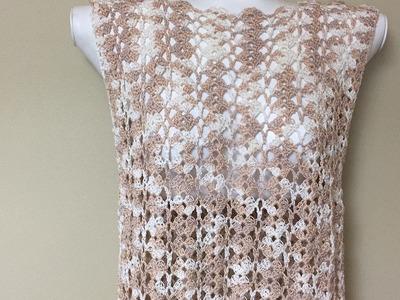 Crochet Fast Summer Blouse For Beginners