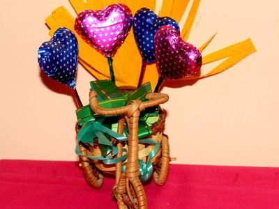 DIY Chocolate Bouquet | Valentine's Day Spcl | Easy & Simple | Handmade | Gifting Idea
