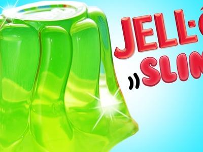 DIY | Jell-O Slime - HOW TO MAKE JIGGLY SLIME!!!