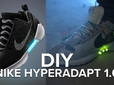 DIY Nike HyperAdapt Self-Lacing Shoes