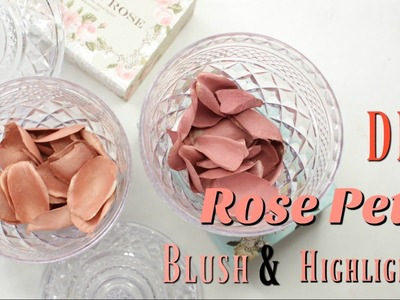 DIY Rose Petal Blush and Highlighter ( Laduree and Lancome Inspired ) - Shesolovelyy