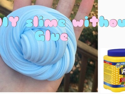 DIY slime without glue