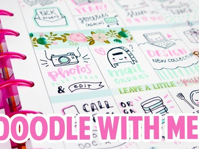 Doodle with me - Happy Planner