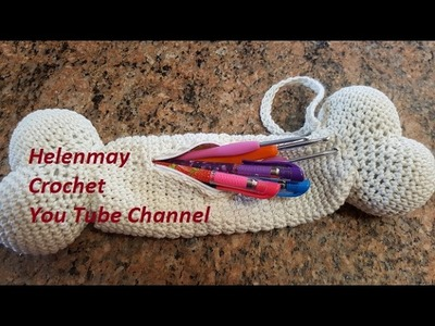 Helenmay Crochet Quick, Easy, Beginner Dog Bone Purse DIY Tutorial