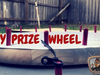 HOW TO BUILD A PRIZE WHEEL || DIY PART 2