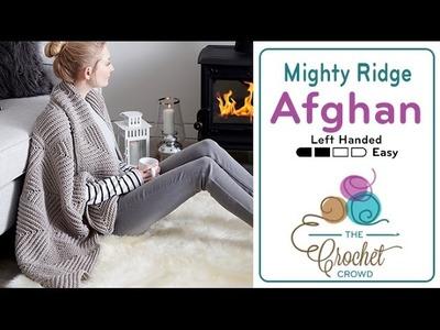 How to Crochet an Afghan: Mighty Ridge Afghan
