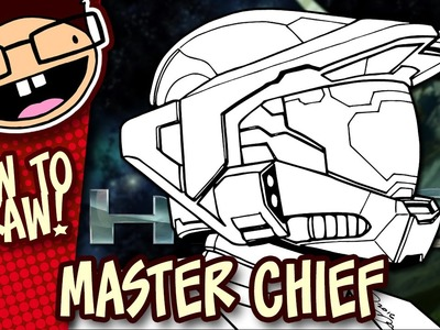 How to Draw MASTER CHIEF (Halo) | Easy Step-by-Step Drawing Tutorial