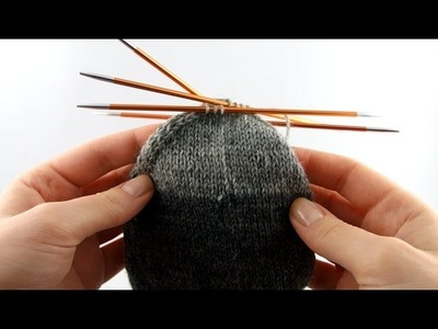 How to Knit Socks for Men #5 Foot & Toes