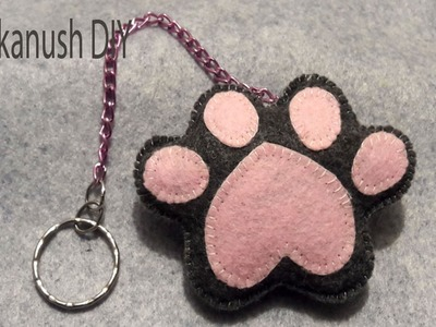 HOW TO MAKE CUTE KEYCHAINS AT HOME