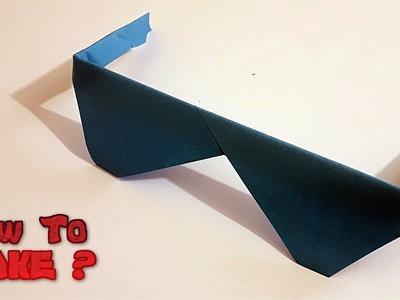 How to make Origami Glasses for Children (So easy)