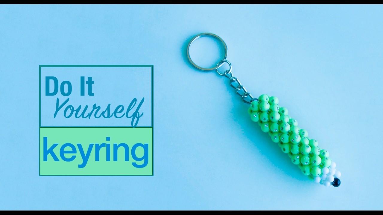 How to make pencil keychain   miniature pencil keychain   DIY keyring