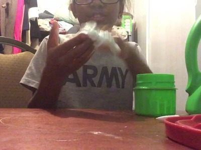 How to make slime with gain glue and shaving cream
