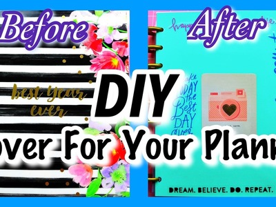"How To Make Your Own Cover For ""THE HAPPY PLANNER"" 