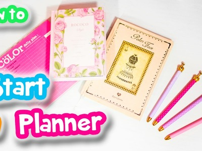 How to Start a Planner