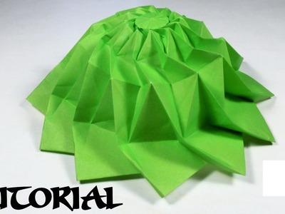 Interesting Origami YouTuber Hat Tutorial