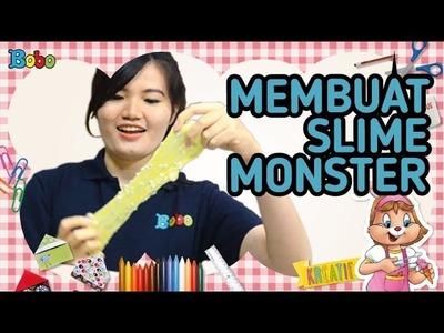 KREATIF - Tutorial Cara Membuat Slime Monster - DIY - Prakarya