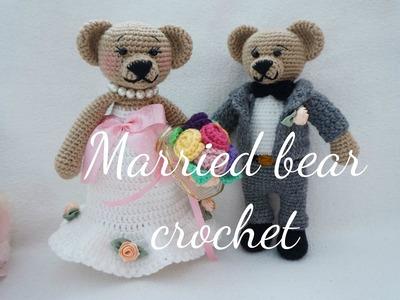 MARRIED BEAR CROCHET EP.1. GROOM