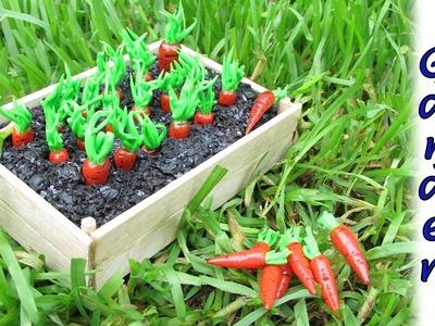 Miniature doll Garden - DIY