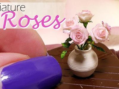 Miniature Rose Tutorial. DIY Dollhouse Roses. SugarCharmShop