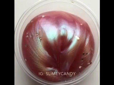 Most Satisfying PEARL Slime Video In The World!!!!