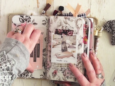 My November Planner Society Kits Set up in my Foxy Fix Travelers notebook!