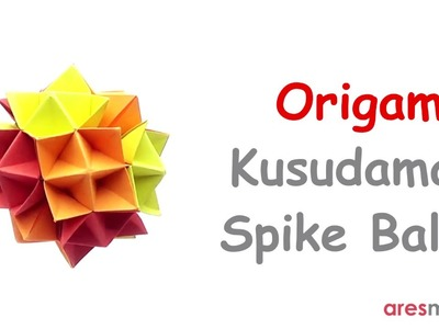 Origami Spike Ball (Cuboctahedron) (HD) - YouTube | 300x400