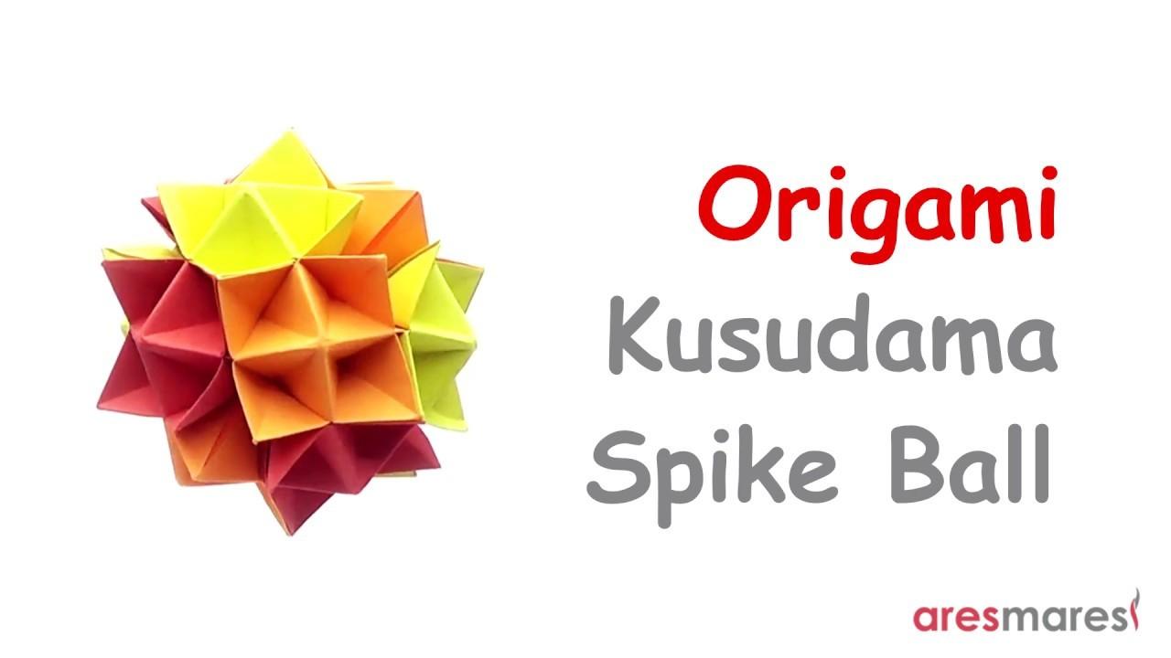 Kusudama Origami Kusudama Spike Ball Cuboctahedron Intermediate