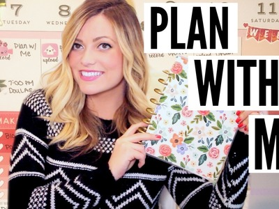 Plan With Me! February 2017 [The Happy Planner]