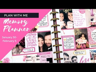 Plan With Me- Memory Planner- February 6-12