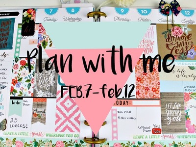 Plan with me  The Happy Planner!