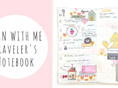 PLAN WITH ME | TRAVELERS NOTEBOOK PLANNER
