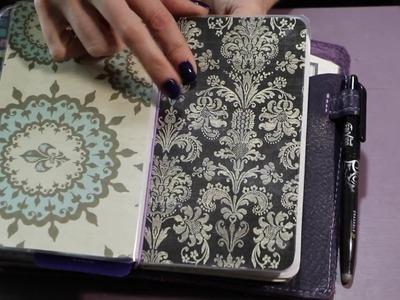 Planner Setup 2017 Foxy Fix Traveler's Notebook and Bullet Journal flip through