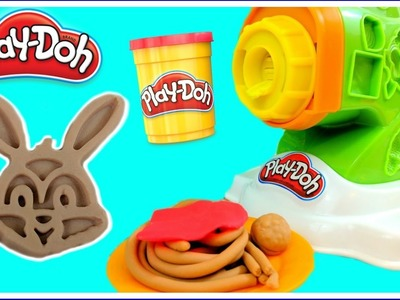Play Doh Noodle Makin' Mania Kitchen Creations!  DIY Play Doh Food!  Make Your Own NOODLES!